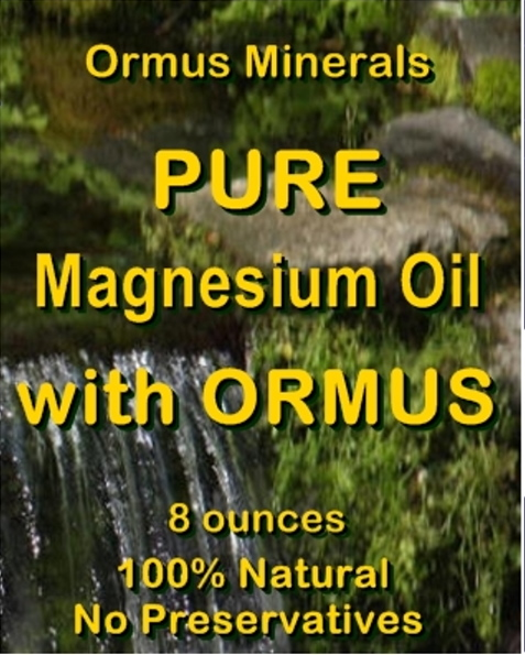 Ormus Minerals Pure Magnesium Oil with ORMUS
